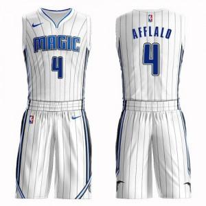 Nike NBA Maillots De Arron Afflalo Orlando Magic Blanc No.4 Enfant Suit Association Edition