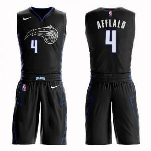 Nike NBA Maillot De Afflalo Magic Enfant Noir No.4 Suit City Edition