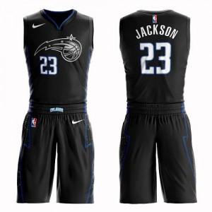 Maillots Basket Jackson Magic Nike Noir Homme #23 Suit City Edition