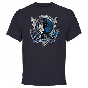 NBA Tee-Shirt De Basket Mavericks Homme Bleu Big & Tall Team