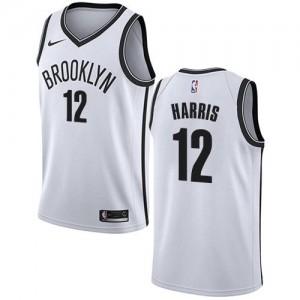 Nike Maillots De Basket Joe Harris Nets Blanc Enfant #12 Association Edition