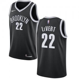 Nike NBA Maillot De Basket LeVert Nets #22 Icon Edition Noir Enfant