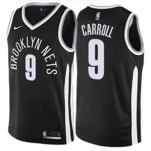 Maillot Carroll Brooklyn Nets Nike No.9 City Edition Enfant Noir