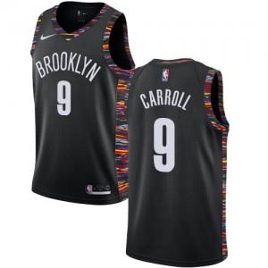 Nike NBA Maillot De Basket Carroll Nets No.9 2018/19 City Edition Noir Enfant