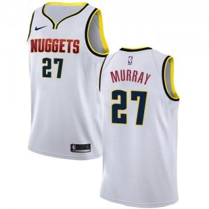 Maillot Basket Murray Denver Nuggets Association Edition Blanc Nike Homme No.27