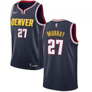 Maillots Basket Jamal Murray Denver Nuggets Icon Edition Nike #27 Homme bleu marine