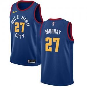 Maillot De Jamal Murray Denver Nuggets No.27 Nike Homme Bleu Statement Edition