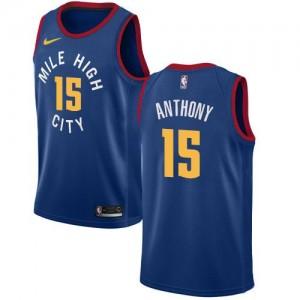 Nike Maillot De Basket Anthony Denver Nuggets Enfant Bleu Statement Edition #15