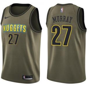 Nike NBA Maillots De Murray Denver Nuggets Enfant #27 vert Salute to Service