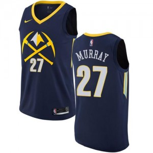 Nike Maillot De Murray Nuggets #27 Homme City Edition bleu marine