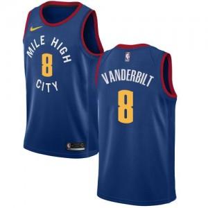 Nike NBA Maillot De Vanderbilt Nuggets Homme Statement Edition No.8 Bleu
