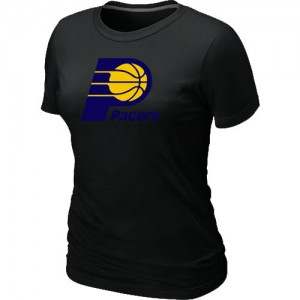 Tee-Shirt Pacers Noir Femme Big & Tall Primary Logo