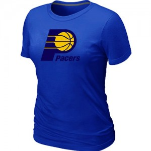 NBA T-Shirt Basket Pacers Big & Tall Primary Logo Femme Bleu