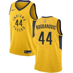Nike Maillots Bogdanovic Pacers #44 Homme Statement Edition or