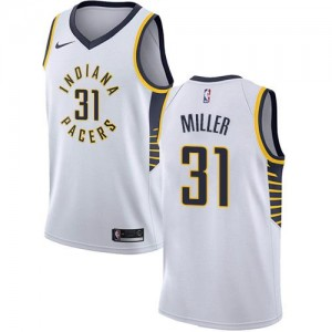Maillot Basket Reggie Miller Indiana Pacers Blanc No.31 Nike Enfant Association Edition