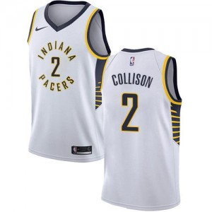 Nike NBA Maillot Basket Darren Collison Pacers Association Edition Enfant #2 Blanc