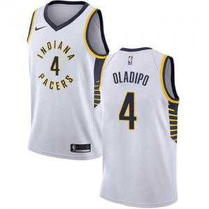 Maillot De Victor Oladipo Pacers No.4 Nike Blanc Enfant Association Edition