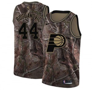 Maillot Basket Bogdanovic Pacers No.44 Camouflage Homme Nike Realtree Collection