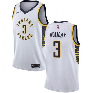 Nike NBA Maillot De Holiday Pacers Association Edition Enfant #3 Blanc
