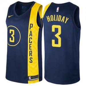 Nike NBA Maillot De Holiday Indiana Pacers bleu marine City Edition No.3 Enfant