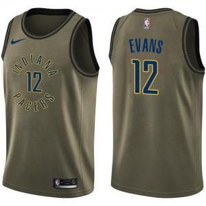 Nike NBA Maillot De Basket Tyreke Evans Pacers Salute to Service Enfant #12 vert
