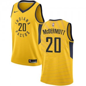 Nike NBA Maillots Doug McDermott Pacers Homme No.20 or Statement Edition