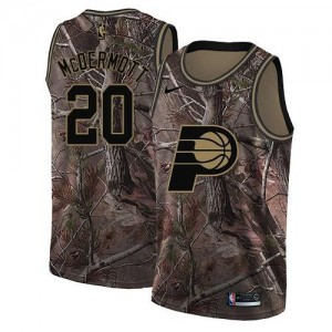 Nike NBA Maillots De McDermott Pacers Homme Realtree Collection #20 Camouflage