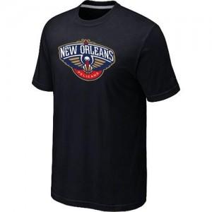 T-Shirt De Basket Pelicans Big & Tall Primary Logo Homme Noir