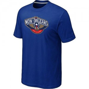 Tee-Shirt Pelicans Homme Bleu Big & Tall Primary Logo