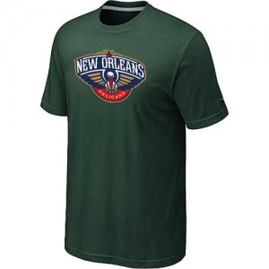 T-Shirt De Pelicans Vert foncé Homme Big & Tall Primary Logo