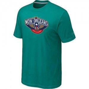 Tee-Shirt New Orleans Pelicans Vert d'Eau Big & Tall Primary Logo Homme