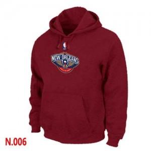 Sweat à capuche De Basket New Orleans Pelicans Homme Rouge Pullover