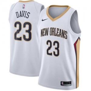 Nike Maillot De Basket Davis Pelicans No.23 Enfant Blanc Association Edition