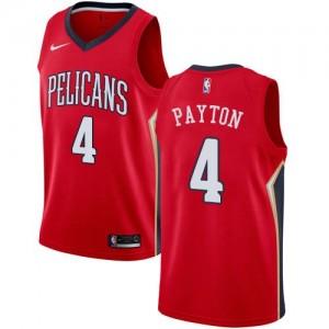 Maillots De Basket Elfrid Payton Pelicans Nike Homme Statement Edition Rouge #4