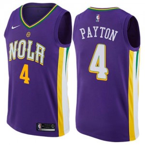 Nike NBA Maillot De Basket Payton Pelicans No.4 Enfant City Edition Violet