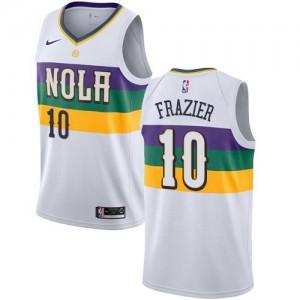 Maillot De Frazier New Orleans Pelicans Blanc Nike Enfant #10 City Edition