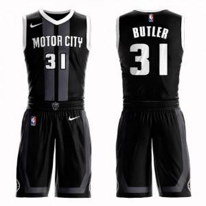 Nike Maillot Basket Butler Pistons Enfant No.31 Suit City Edition Noir