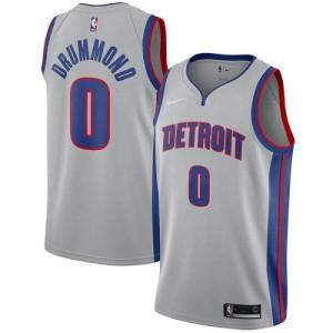 Maillots Drummond Detroit Pistons Statement Edition Argent No.0 Enfant Nike