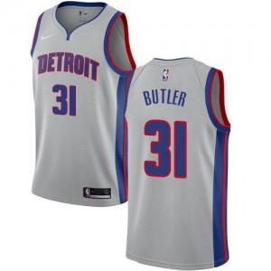 Nike NBA Maillot De Basket Caron Butler Detroit Pistons Enfant Statement Edition No.31 Argent