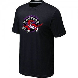 T-Shirt De Raptors Noir Big & Tall Primary Logo Homme