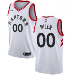 Nike NBA Maillot Personnaliser Toronto Raptors Homme Blanc Association Edition