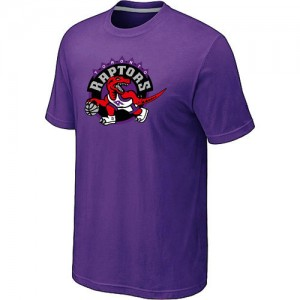 Tee-Shirt Toronto Raptors Big & Tall Primary Logo Homme Violet