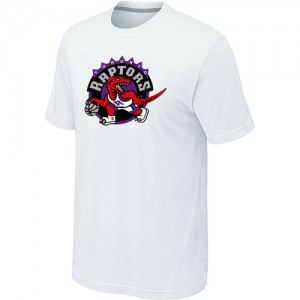 NBA Tee-Shirt Raptors Big & Tall Primary Logo Blanc Homme