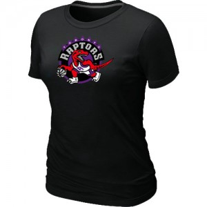 NBA Tee-Shirt De Toronto Raptors Noir Big & Tall Primary Logo Femme