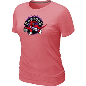 NBA Tee-Shirt De Toronto Raptors Femme Rose Big & Tall Primary Logo