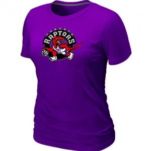 NBA Tee-Shirt Basket Raptors Violet Femme Big & Tall Primary Logo