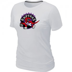 NBA Tee-Shirt Toronto Raptors Big & Tall Primary Logo Femme Blanc