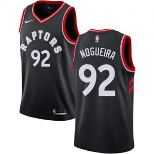 Maillot De Lucas Nogueira Toronto Raptors No.92 Enfant Noir Statement Edition Nike