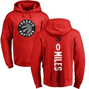Nike Hoodie De Basket Miles Toronto Raptors No.0 Homme & Enfant Rouge Backer Pullover