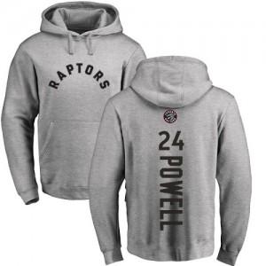 Nike Hoodie Basket Norman Powell Raptors No.24 Homme & Enfant Ash Backer Pullover